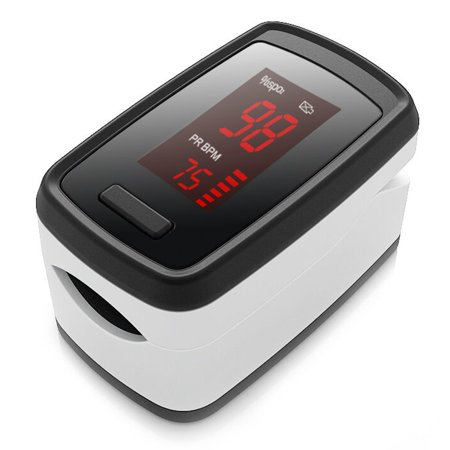 Portable Fingertip Blood Oxygen Pulse Rate Monitor OLED Display Home Physical Health