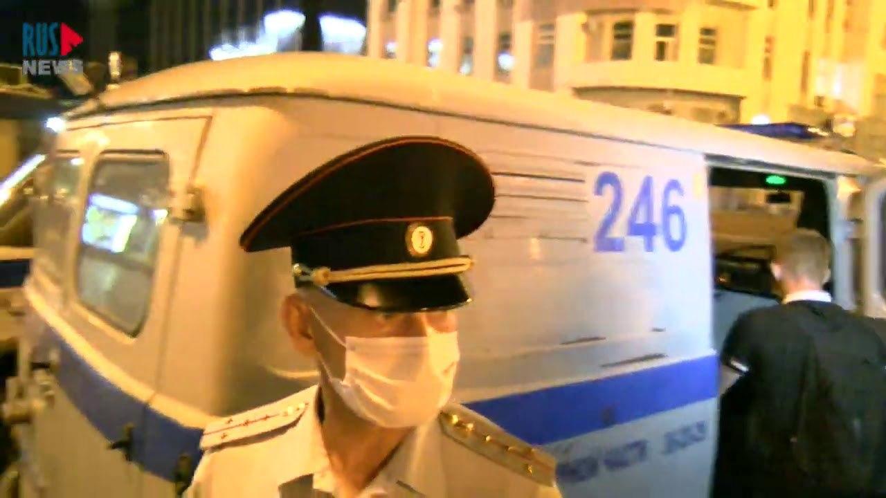 В Хабаровске начались задержания, суды, посадки, штрафы за несанкционированные митинги