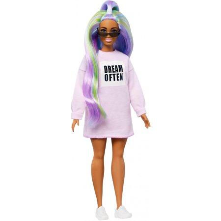 Barbie Fashionistas Doll #136 With Long Rainbow Hair