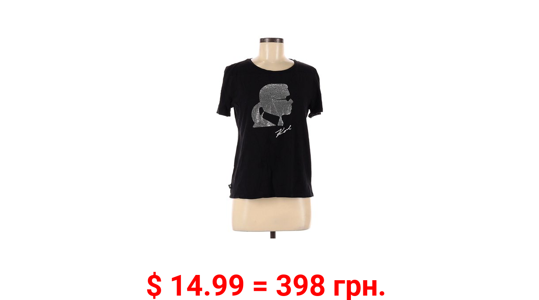 Pre-Owned Karl Lagerfeld Paris Women's Size M Short Sleeve T-Shirt