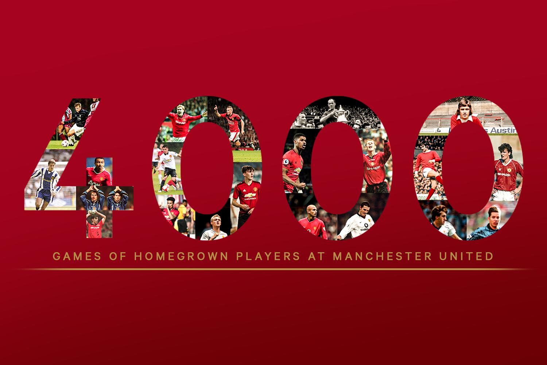 4 000 матчей «Манчестер Юнайтед» с воспитанниками в составе: легенды, игроки одного матча, и флипчарт Ферги.
