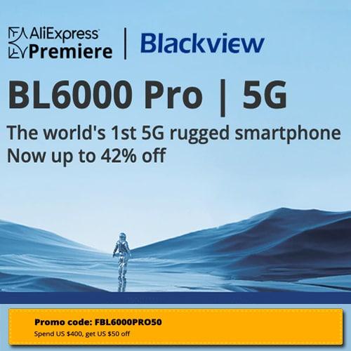 AliExpress Premiere:  Blackview brand