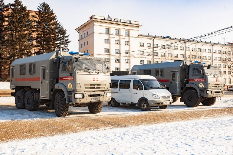 В Хабаровске задержали более 65 человек