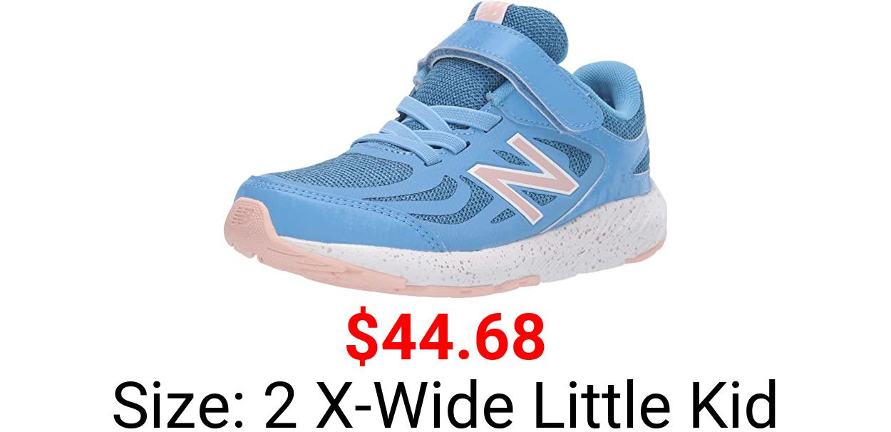 New Balance Unisex-Child 519 V1 Alternative Closure Running Shoe