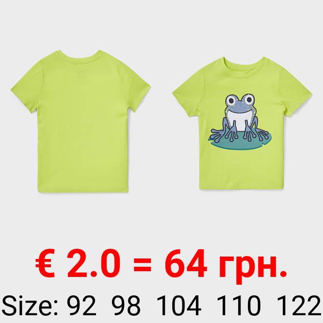 Kurzarmshirt - Bio-Baumwolle