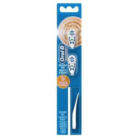 Oral-B Complete Deep Clean Battery Toothbrush Heads, 2 count