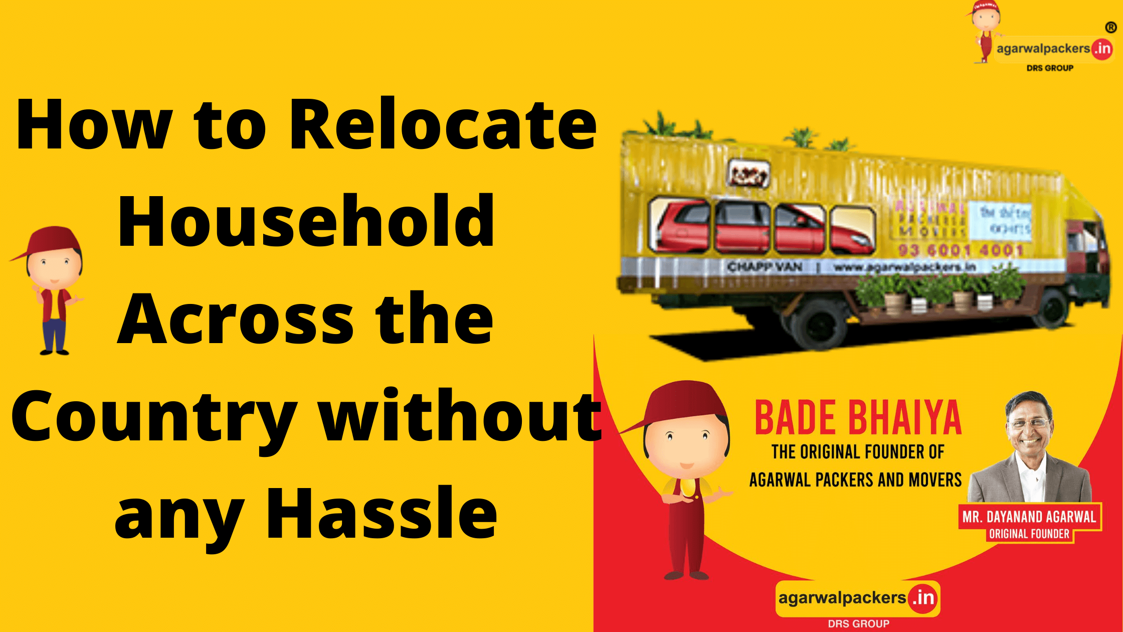 How to relocate household across the India