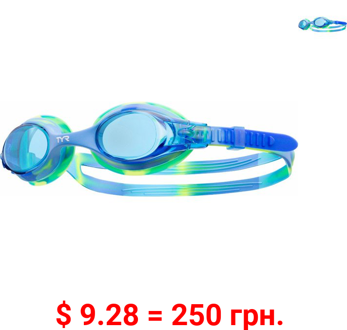 TYR Blue Swimming Sport Goggles