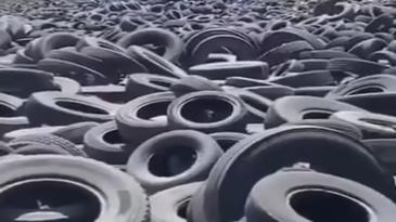 ¿Sabes cómo se reciclan los neumáticos usados?