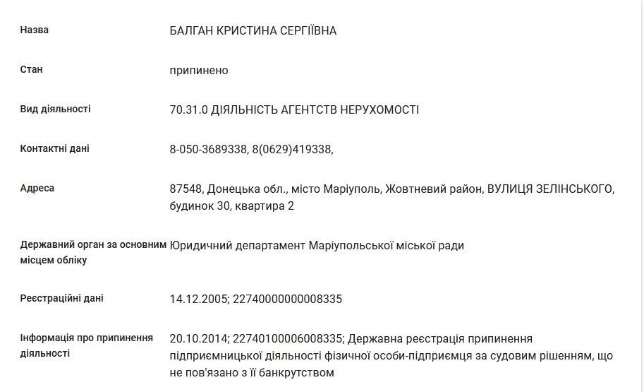 Баглан Кристина Сергеевна - проститутка и сутенерша 47