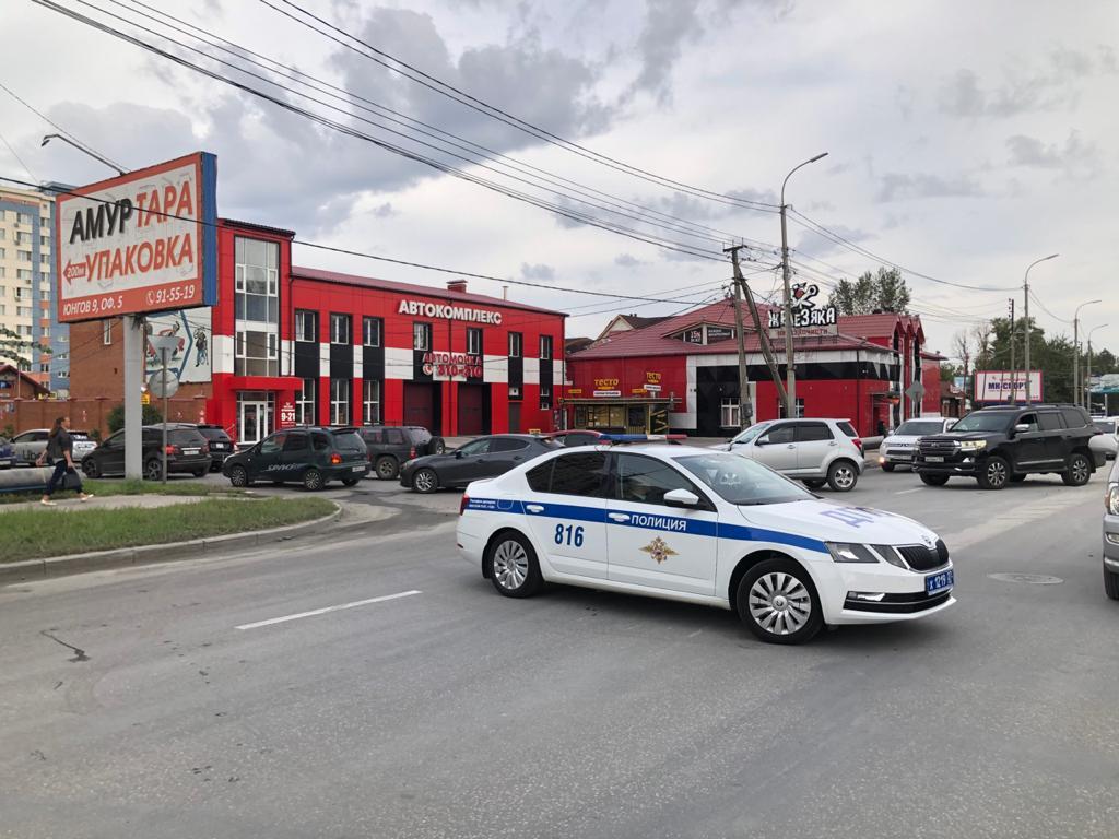 Оперативная информация о состоянии дороги по улице Павла Морозова