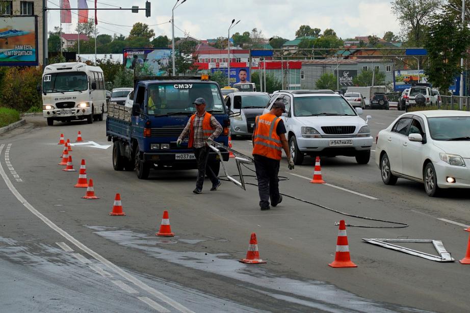 Реконструкция перекрестков в Хабаровске позволит снизить напряженность дорожного трафика