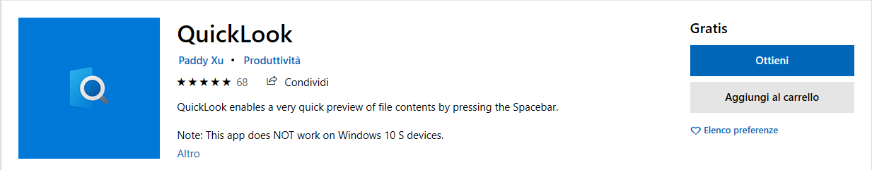 Software utili di Microsoft Store