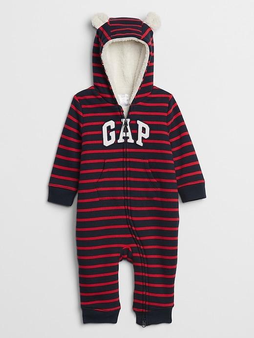 Baby Gap Cozy-Lined Logo One Piece