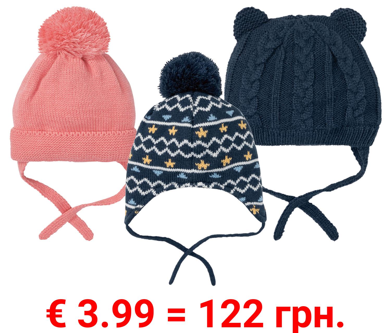 LUPILU® Baby Mütze, mit Fleecefutter
