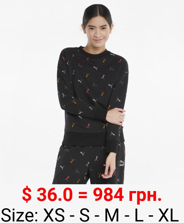 Classics Graphics Printed Crew Neck Women's Sweatshirt