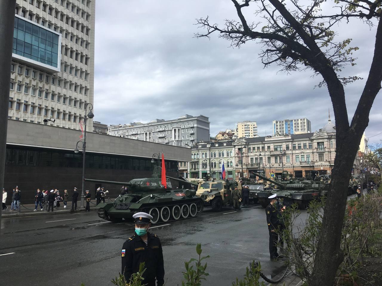 Парад Победы в Хабаровске (онлайн - 2021)