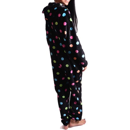 Body Candy Women's Fun Dot Print Union Suit