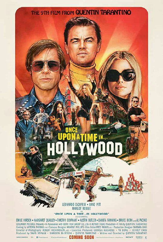 Free Download Once Upon a Time... in Hollywood Full Movie