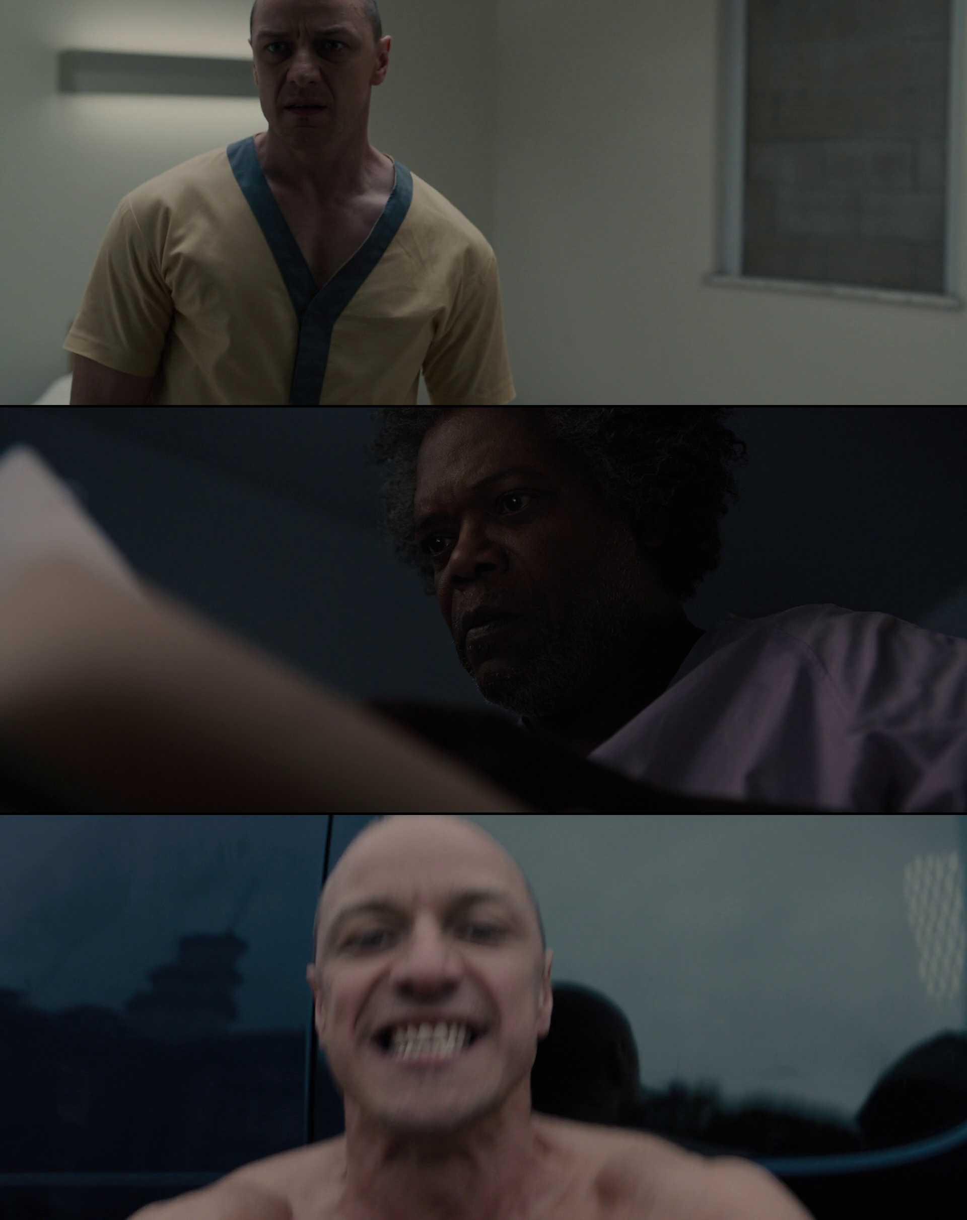 Screenshot of Glass Movie