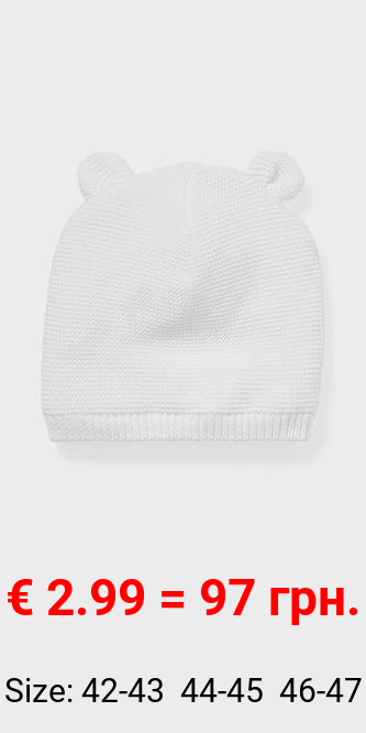 Baby-Mütze - Bio-Baumwolle