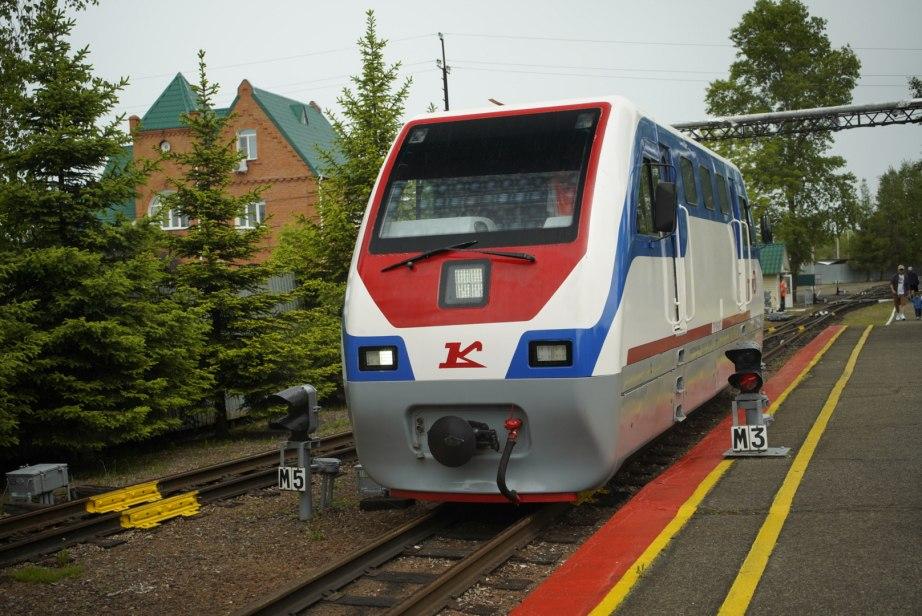 Детская железная дорога открылась в Хабаровске