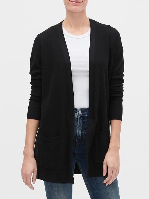 Longline Cardigan Sweater