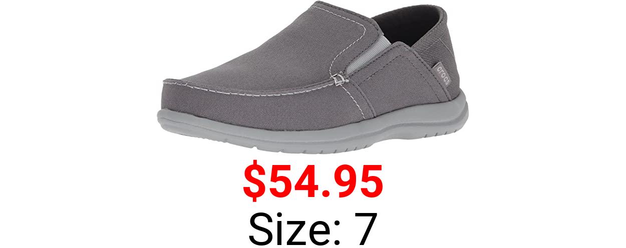 Crocs Men's Santa Cruz Convertible Slip On Loafer   Men's Slip On Shoes