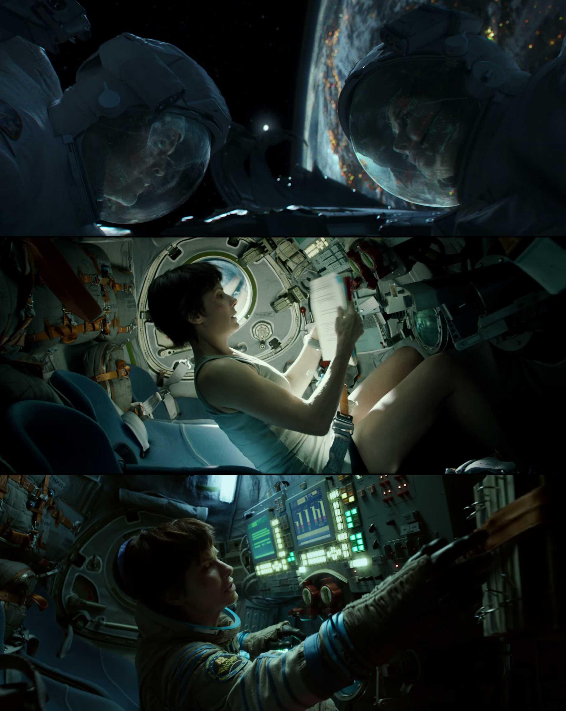 Screenshot of Gravity Movie