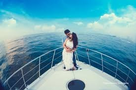 Pre Wedding shoots on Yacht in Goa - Luxury Rental