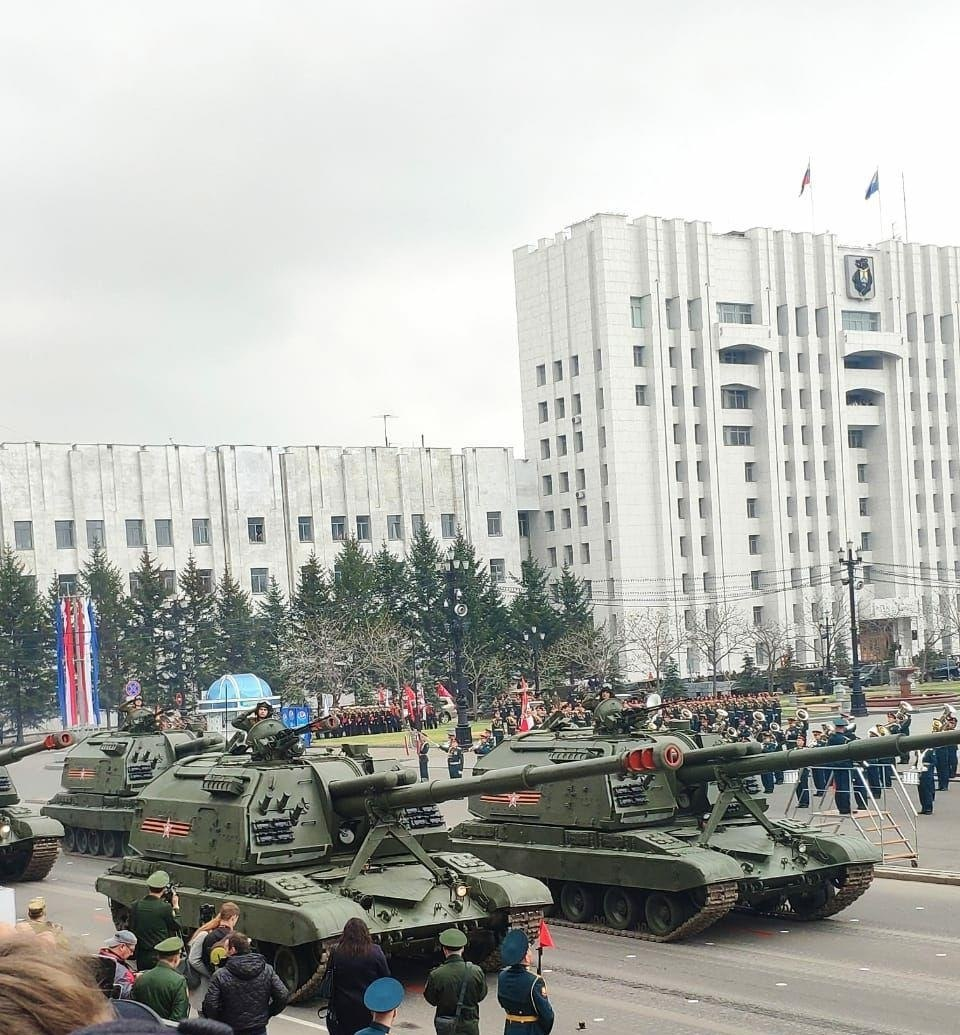 Репетиция парада Победы стартовала в Хабаровске