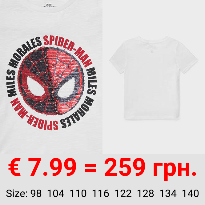 Spider-Man - Kurzarmshirt - Glanz-Effekt
