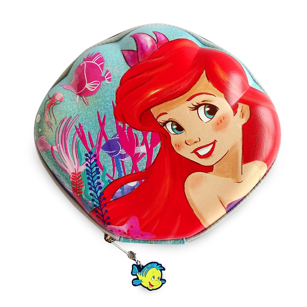 The Little Mermaid Zip-Up Stationery Kit