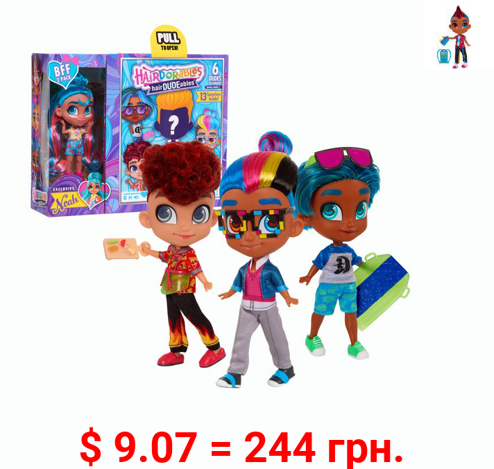 HairDUDEables Collectible Dolls - Series 1 (Styles May Vary)