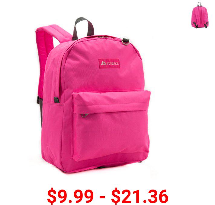 Everest Classic School Backpack, 16