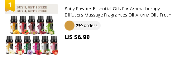 Baby Powder Essential Oils For Aromatherapy Diffusers Massage Fragrances Oil Aroma Oils Fresh Linen Mango Essential Oils