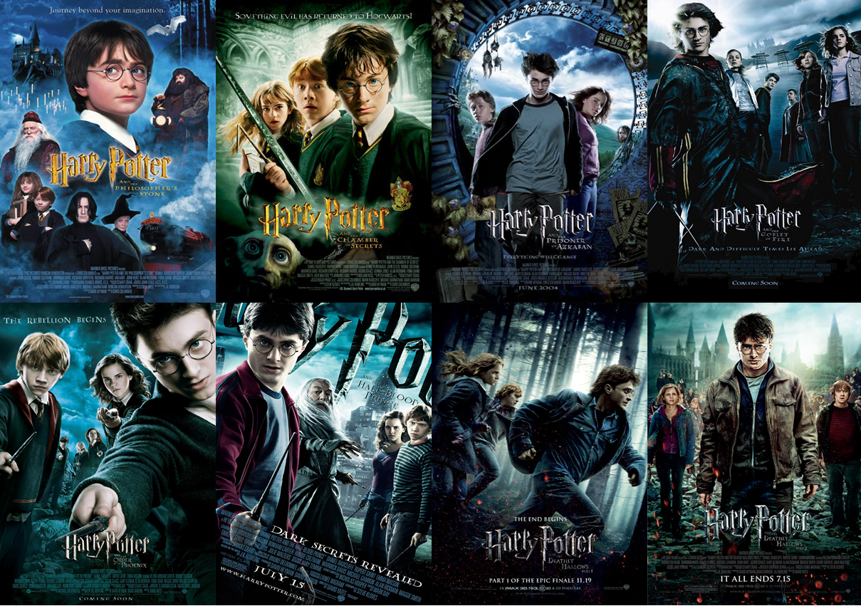 Harry Potter Octalogy Collection (2001-2011) Dual Audio [Hindi-English]   x264   x265 10bit HEVC Bluray   1080p   720p   480p