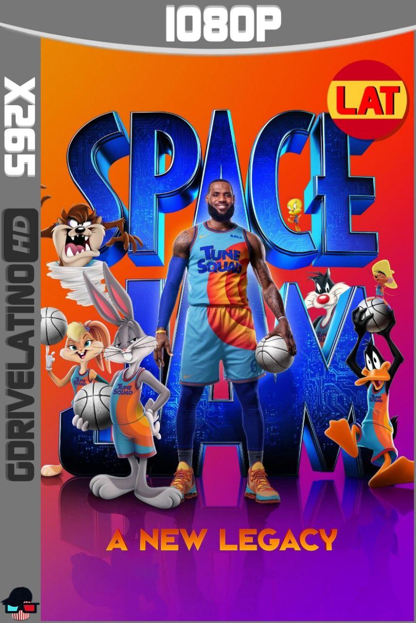 Space Jam: Una Nueva Era (2021) WEB-DL 1080p x265 Latino-Ingles MKV