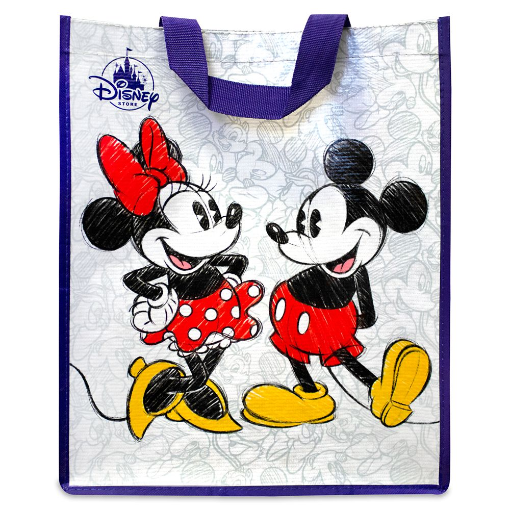 Mickey and Minnie Mouse Classic Reusable Tote