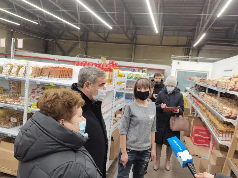 Магазины и торговые сети «зафиксировали» цены на сахар и масло