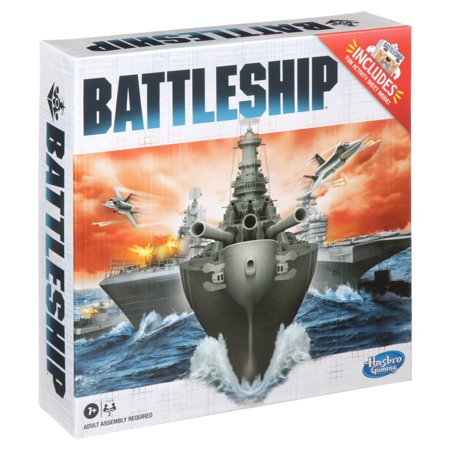 Only At Walmart: Battleship Board Game, Includes Activity Sheet