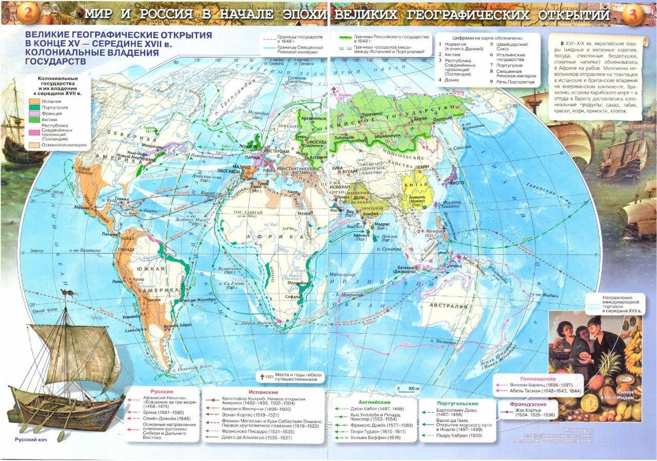 Русские географические открытия в Северо-Восточной Азии и юге Дальнего Востока