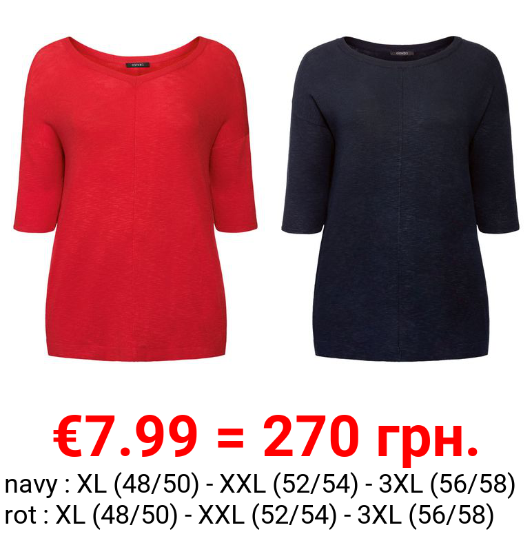 ESMARA® Strickshirt Damen, im Oversize-Look