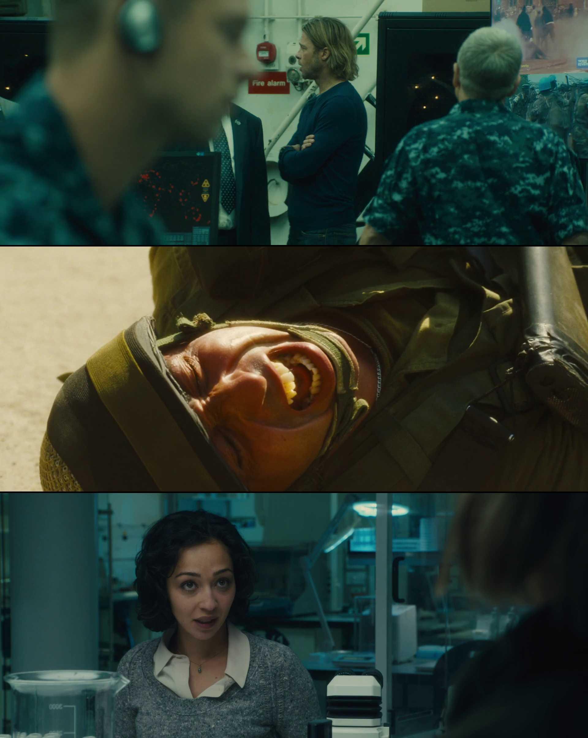 Screenshot of World War Z Movie