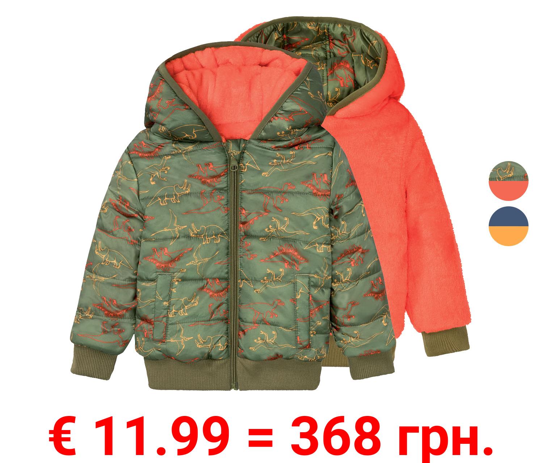 LUPILU® Kleinkinder Jungen Wendesteppjacke, mit Fleece