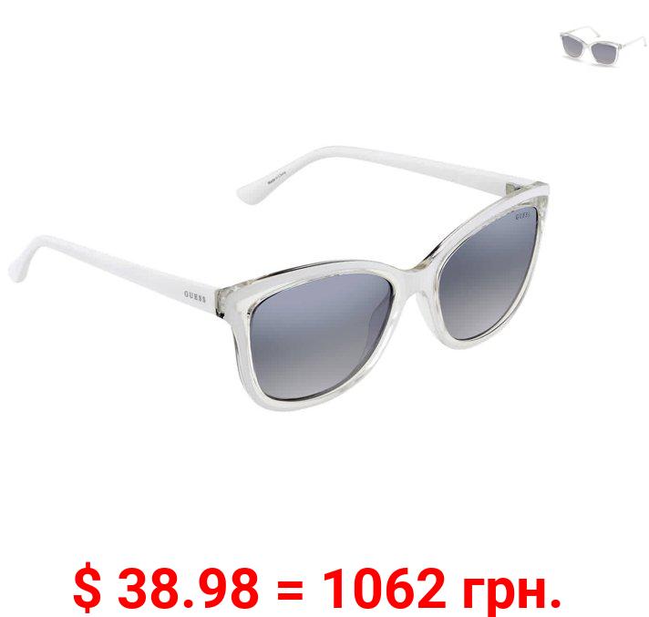Guess Smoke Mirror Cat Eye Ladies Sunglasses GU7627 24C 54