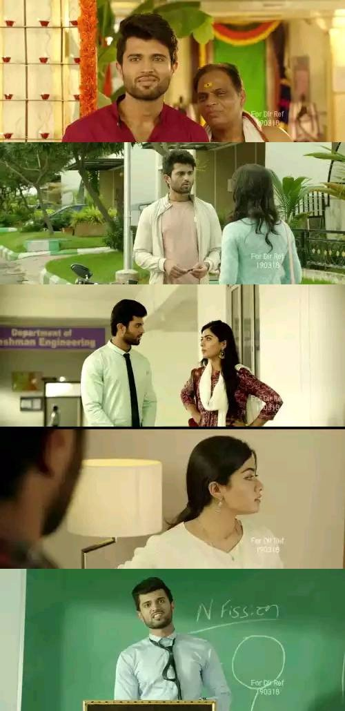 Geetha Govindam 2018 Telugu Hdrip 480p 500MB 720p 1.4GB Esubs