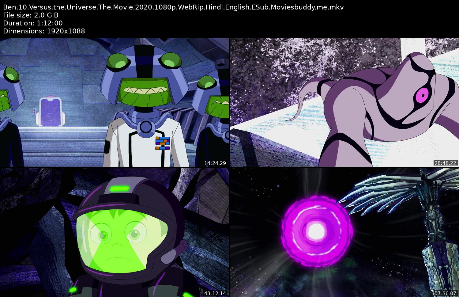 ScreenShots of Ben 10 vs. the Universe: The Movie