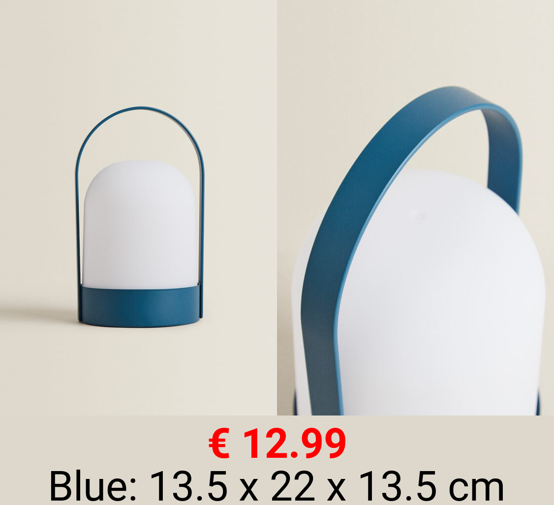 MUSTARD YELLOW LED LAMP