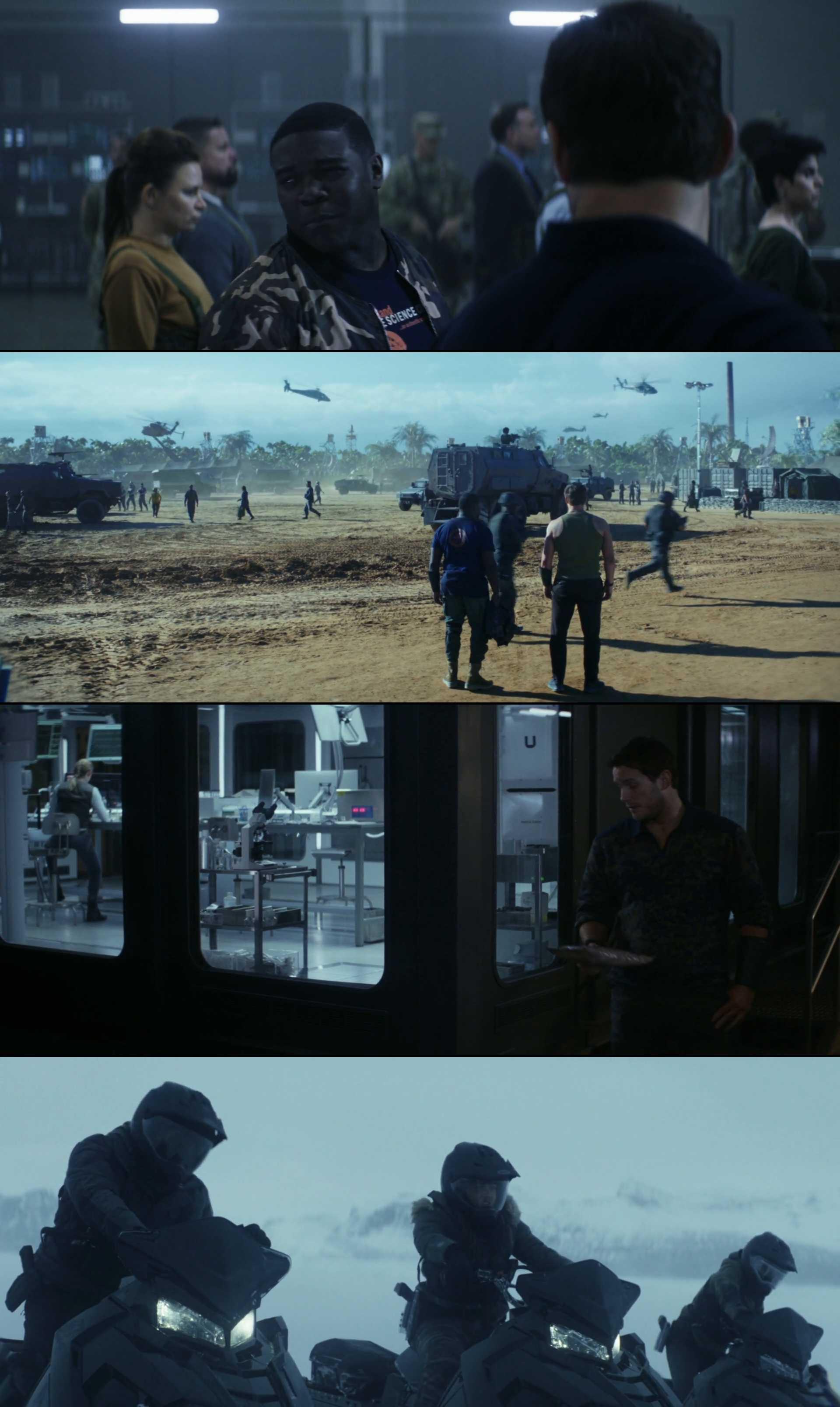 Screenshot of The Tomorrow War Movie